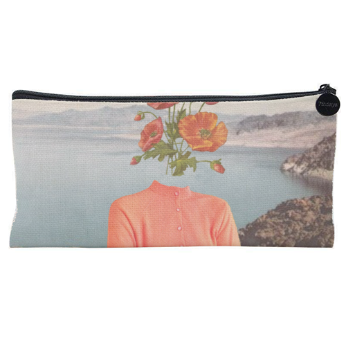 Flower girl - unique pencil case by Maya Land