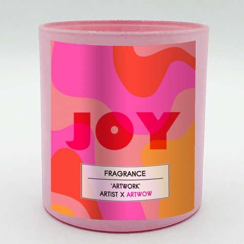 JOY - Candle by Squiggle&Splodge