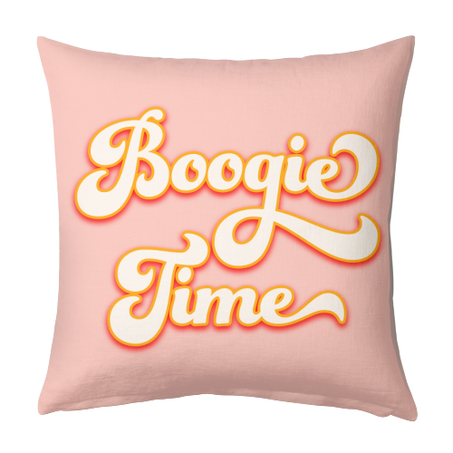 Boogie Time - designed cushion by Dominique Benedict