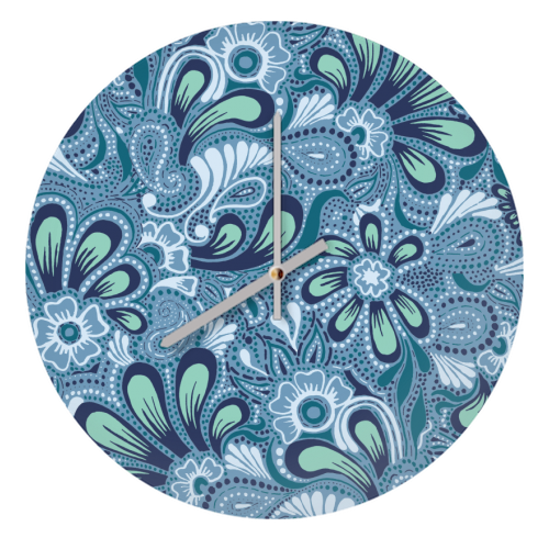 Burst of Spring - creative clock by Julia Barstow