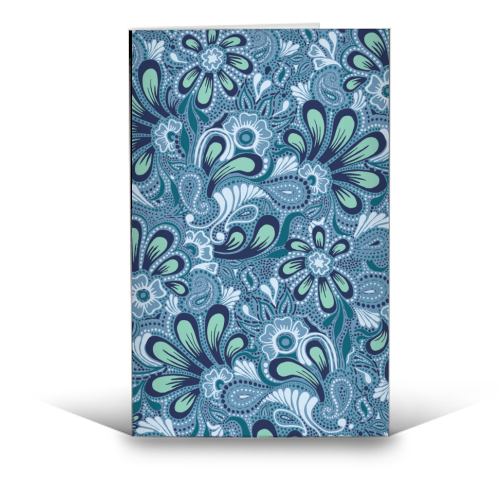 Burst of Spring - funny greeting card by Julia Barstow