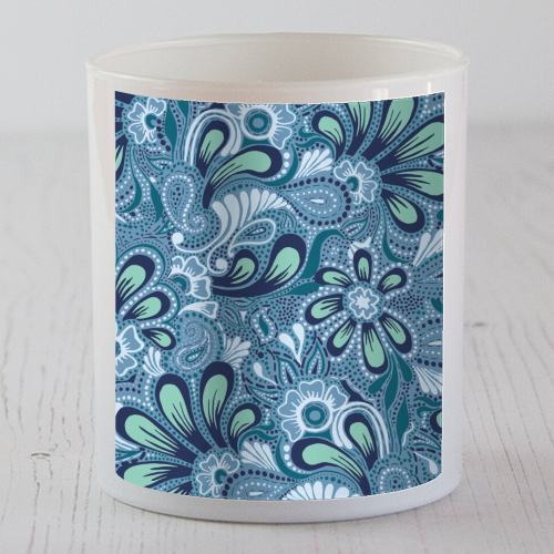 Burst of Spring - Candle by Julia Barstow