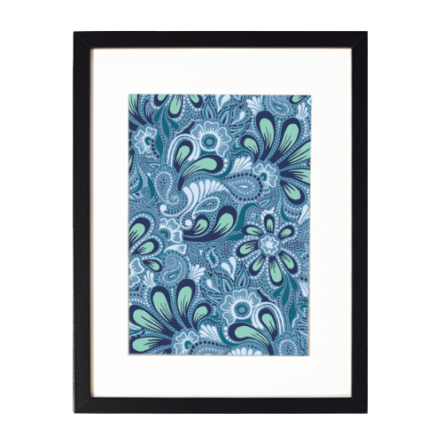 Burst of Spring - printed framed picture by Julia Barstow