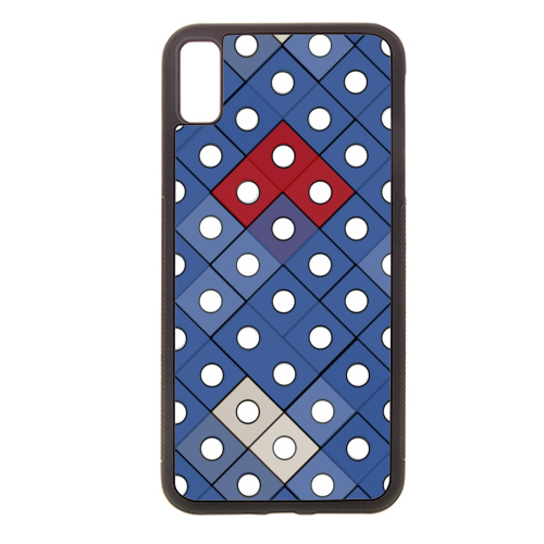 Dice 2 - Rubber phone case by Julia Barstow