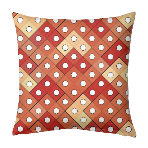 Dice - designed cushion by Julia Barstow