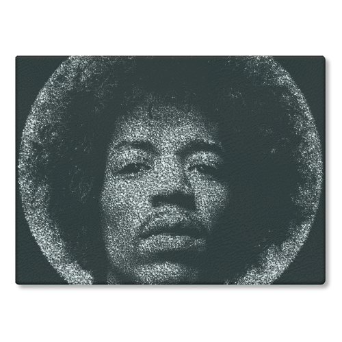 Hendrix - glass chopping board by RoboticEwe