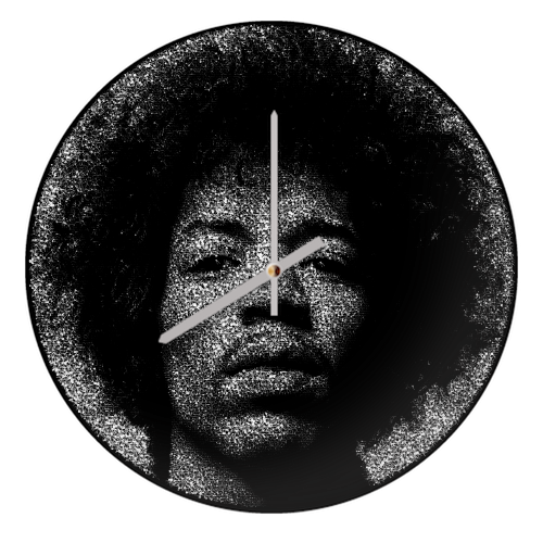 Hendrix - creative clock by RoboticEwe