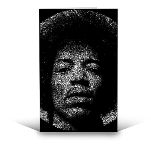 Hendrix - funny greeting card by RoboticEwe