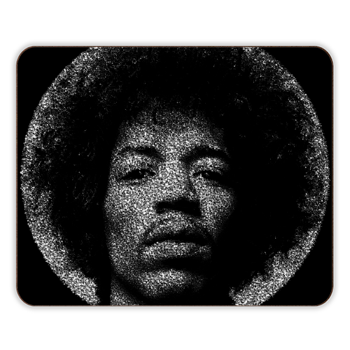 Hendrix - photo placemat by RoboticEwe