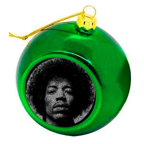 Hendrix - colourful christmas bauble by RoboticEwe
