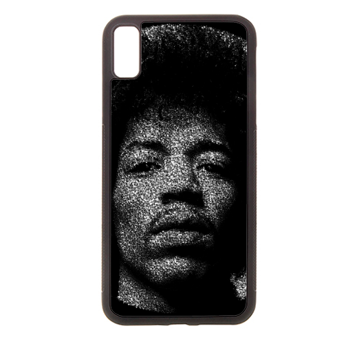 Hendrix - Rubber phone case by RoboticEwe