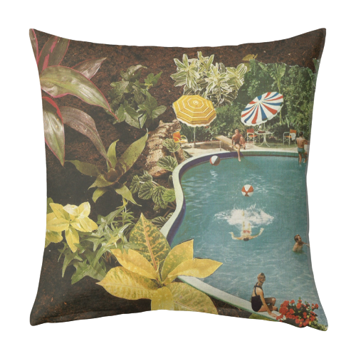 Summer fun - designed cushion by Maya Land