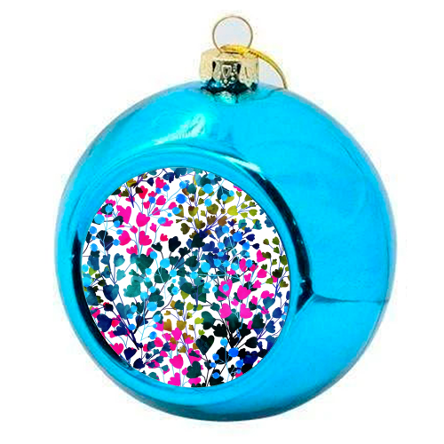 Biome - colourful christmas bauble by Uma Prabhakar Gokhale