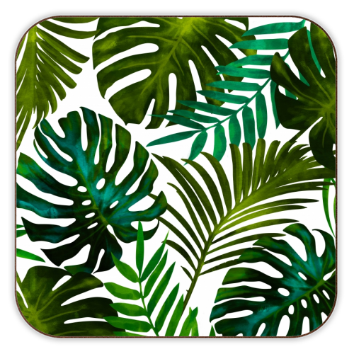 Tropical Dream V2 - personalised drink coaster by Uma Prabhakar Gokhale
