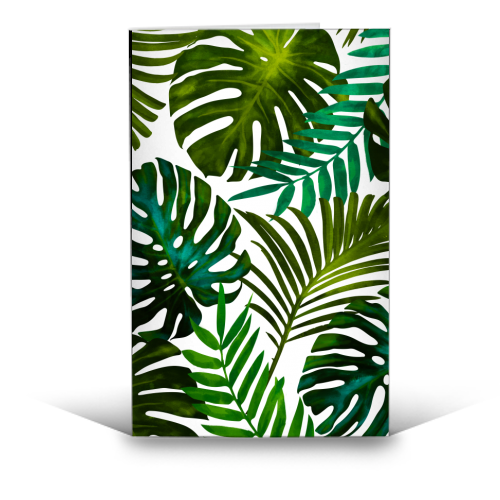 Tropical Dream V2 - funny greeting card by Uma Prabhakar Gokhale