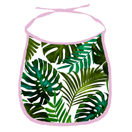 Tropical Dream V2 - funny baby bib by Uma Prabhakar Gokhale