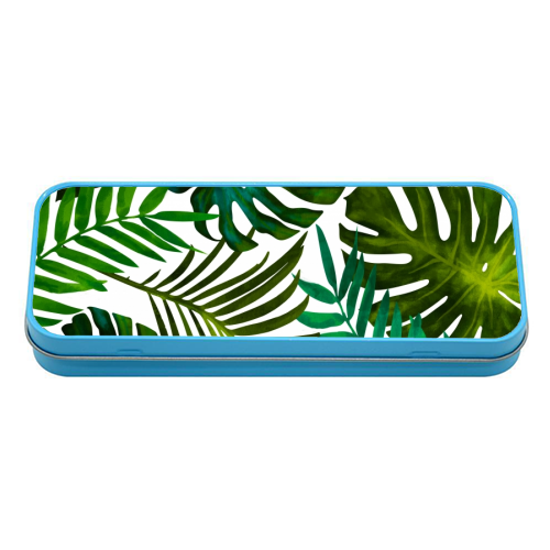 Tropical Dream V2 - tin pencil case by Uma Prabhakar Gokhale