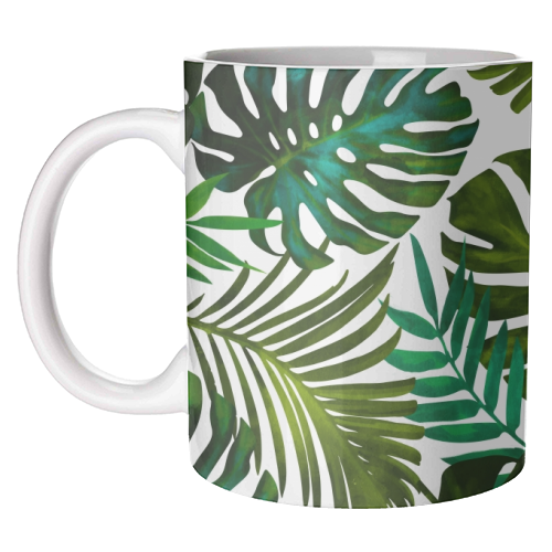 Tropical Dream V2 - unique mug by Uma Prabhakar Gokhale